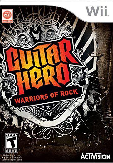 Guitar Hero: Warriors of Rock Game Only