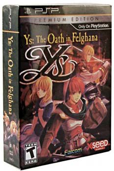 Ys: The Oath in Felghana Premium Edition