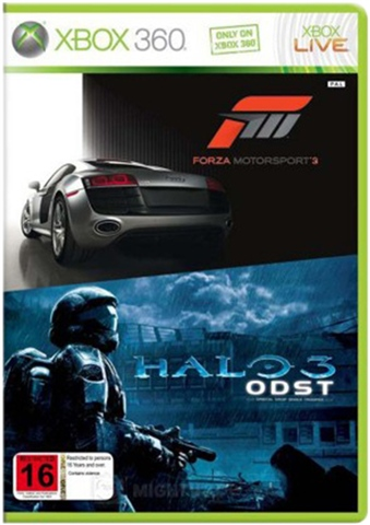 Halo 3: ODST and Forza Motorsport 3 Combo Pack