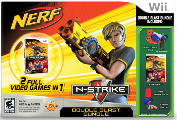 Nerf N-Strike Double Blast Bundle