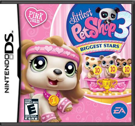 Littlest Pet Shop 3: Biggest Stars Pink Team