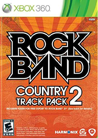 Rock Band Country Track Pack Vol. 2