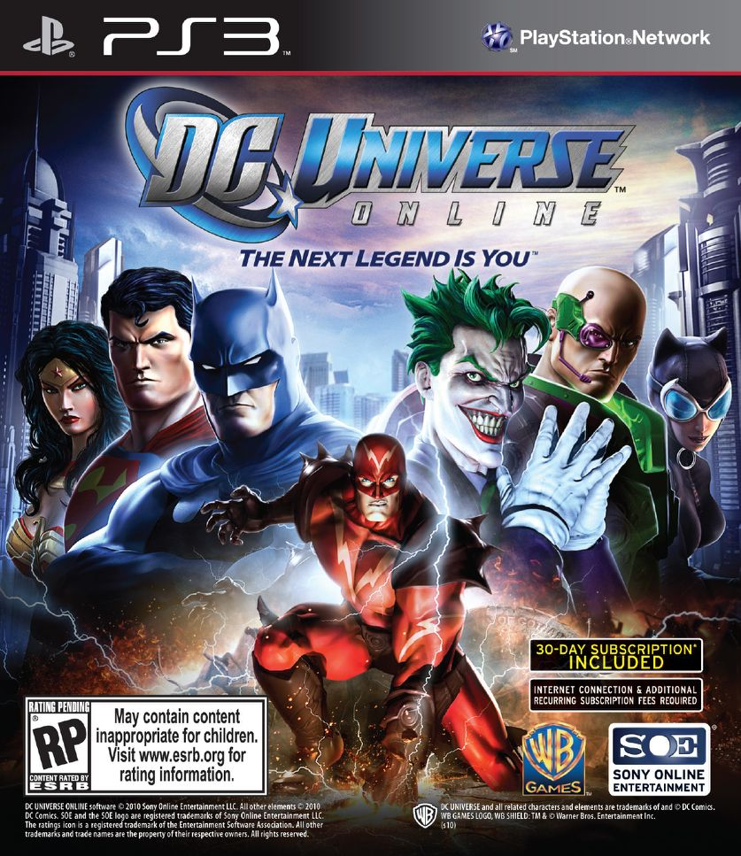 DC Universe Online Official Guide