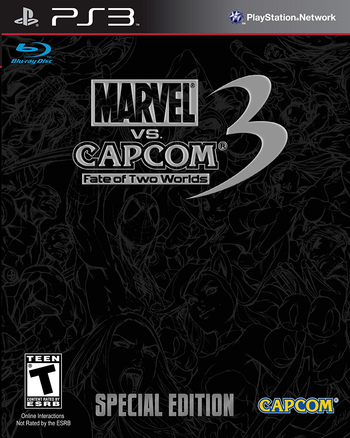 Marvel vs Capcom 3: Fate of Two Worlds Special Edition