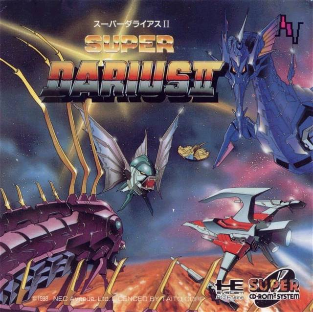 Super Darius II SUPER CD-ROM2