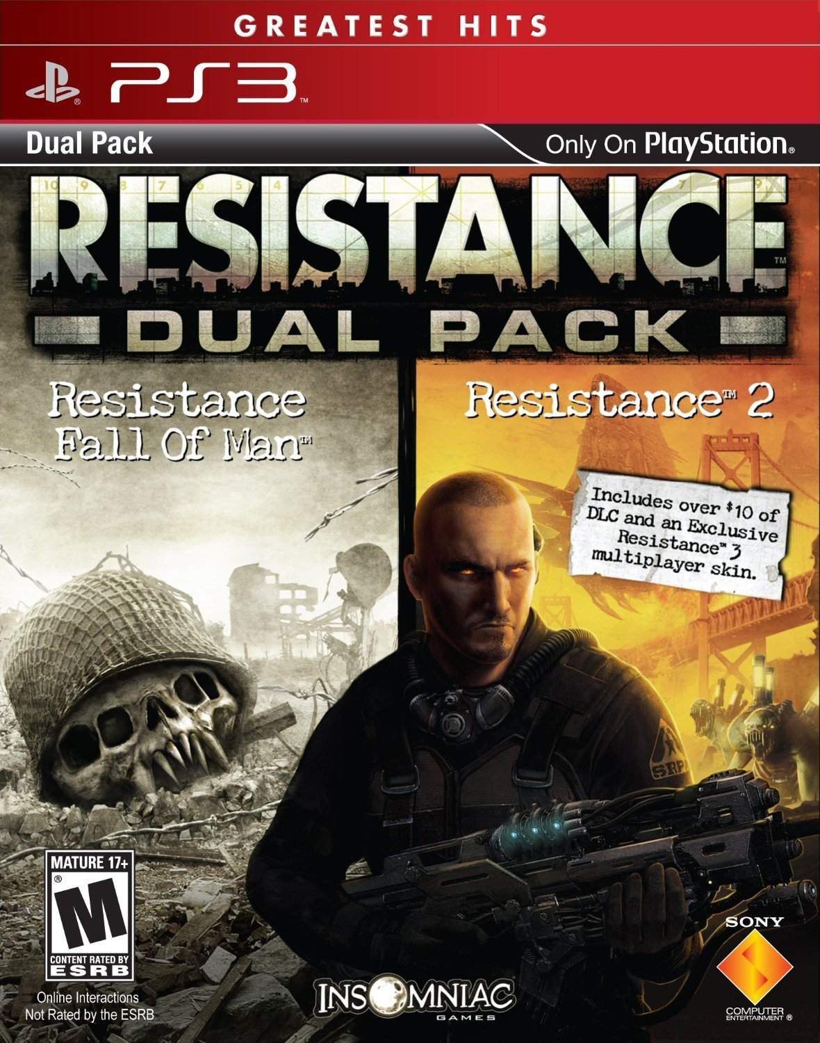 Resistance 1 & 2 Dual Pack