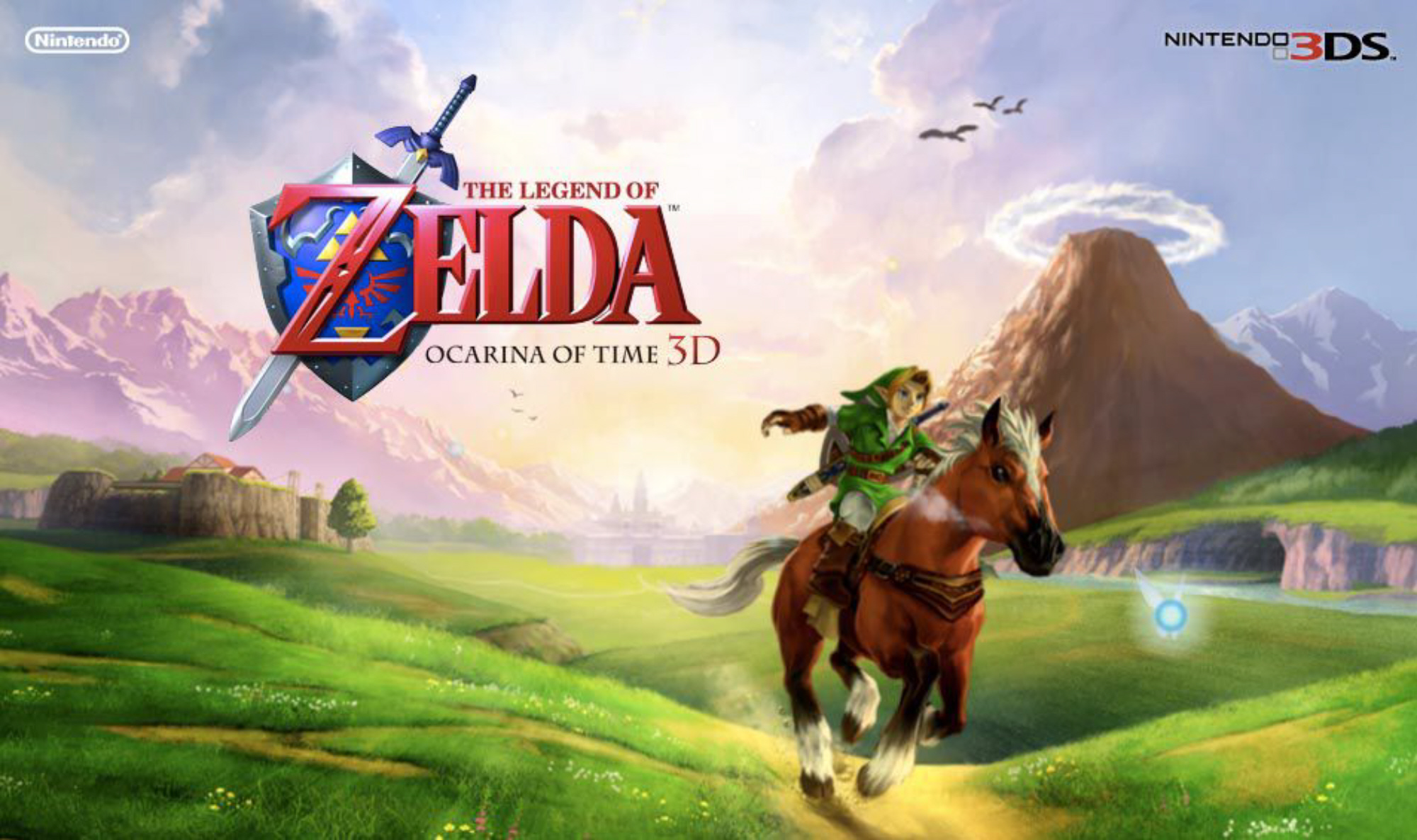 Legend of Zelda Ocarina of Time 3D Game Guide