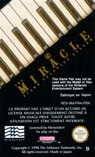 NES Miracle Piano Teaching System