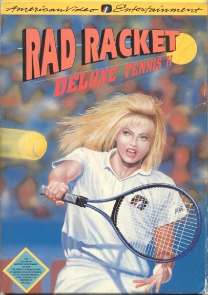 Rad Racket Deluxe Tennis II