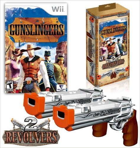 Gunslingers with 2 Revolver Guns