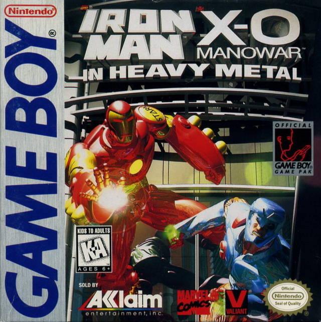 Iron Man/ X-O Manowar in Heavy Metal