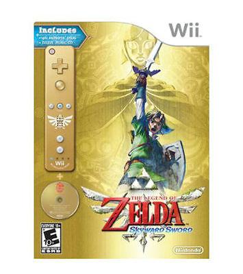 Legend of Zelda: Skyward Sword Gold Remote Bundle