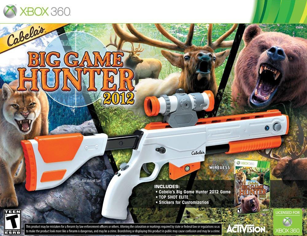 Cabela's Big Game Hunter 2012 with Top Shot Elite