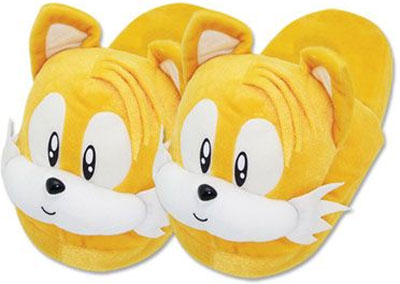 Sonic the Hedgehog Tails Slippers