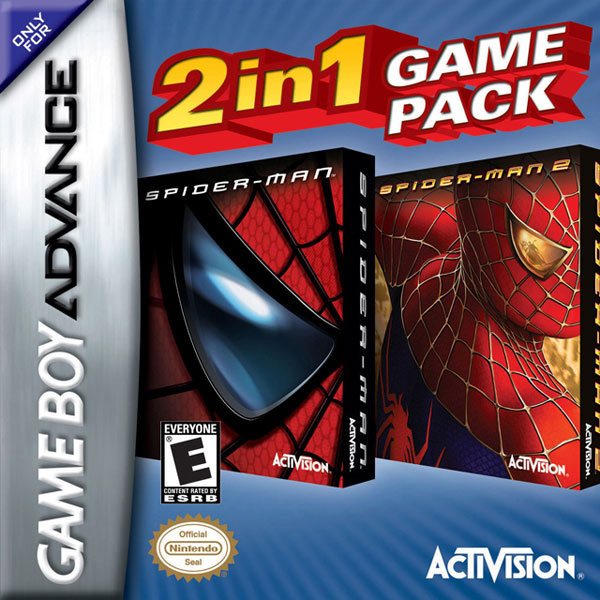 Spiderman and Spiderman 2 Combo Pack