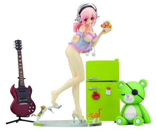 Creators Labo #28: Super Sonico Deluxe Ver. PVC Figure