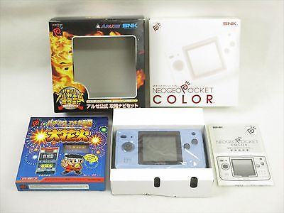 Neo Geo Pocket Color Handheld System - Ocean Blue