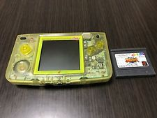 Neo Geo Pocket Color Handheld System - Crystal Yellow
