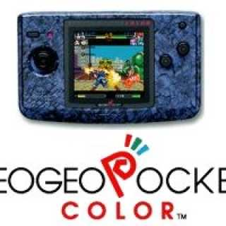 Neo Geo Pocket Color Handheld System - Stone Blue
