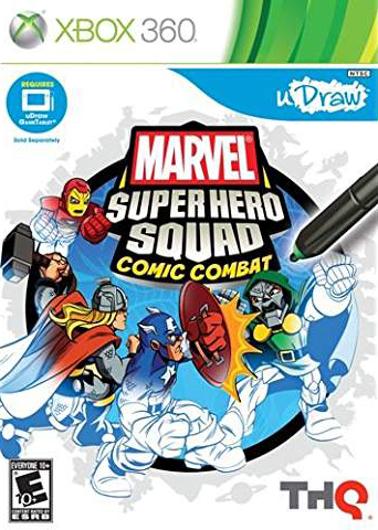 uDraw Marvel Super Hero Squad: Comic Combat