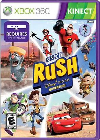 Kinect Rush: A Disney-Pixar Adventure