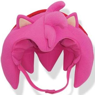 Sonic the Hedgehog Amy Big Head Fleece Cap