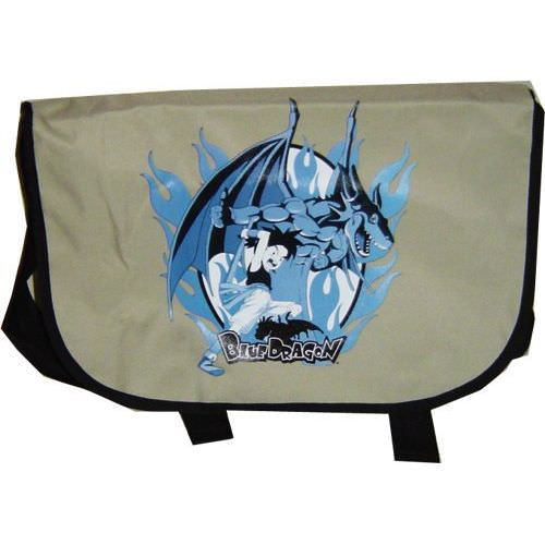 Blue Dragon Shu and Dragon Messenger Bag