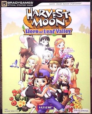 Harvest Moon: Hero of Leaf Valley Official Strategy Guide