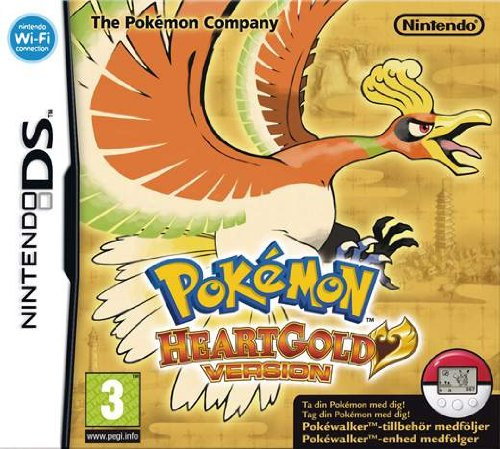 Pokemon Heart Gold & Soul Silver Pokedex Official Guide