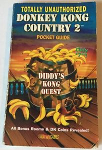 Donkey Kong Country 2 Totally Unauthorized Pocket Guide