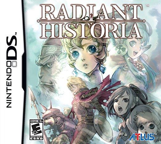 Radiant Historia Regular Edition