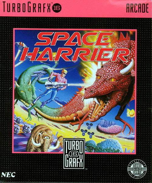 Space Harrier PCE