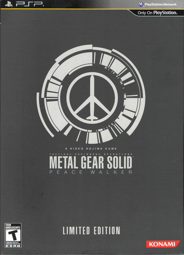 Metal Gear Solid Peace Walker Limited Edition