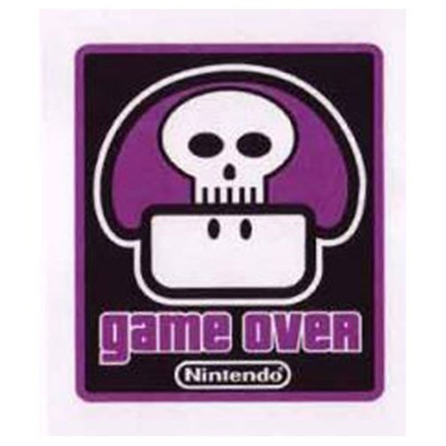 Nintendo Poison Mushroom Game Over Patch