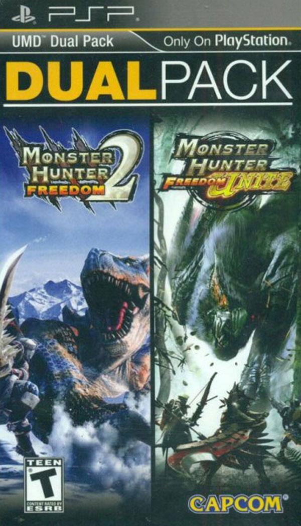 Monster Hunter Freedom Dual Pack