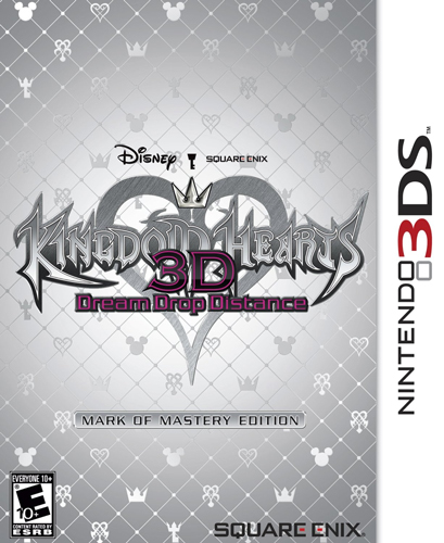 Kingdom Hearts 3D: Dream Drop Distance Mark of Mastery Edition