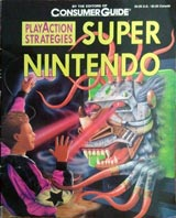 Play Action Strategies Super Nintendo Guide