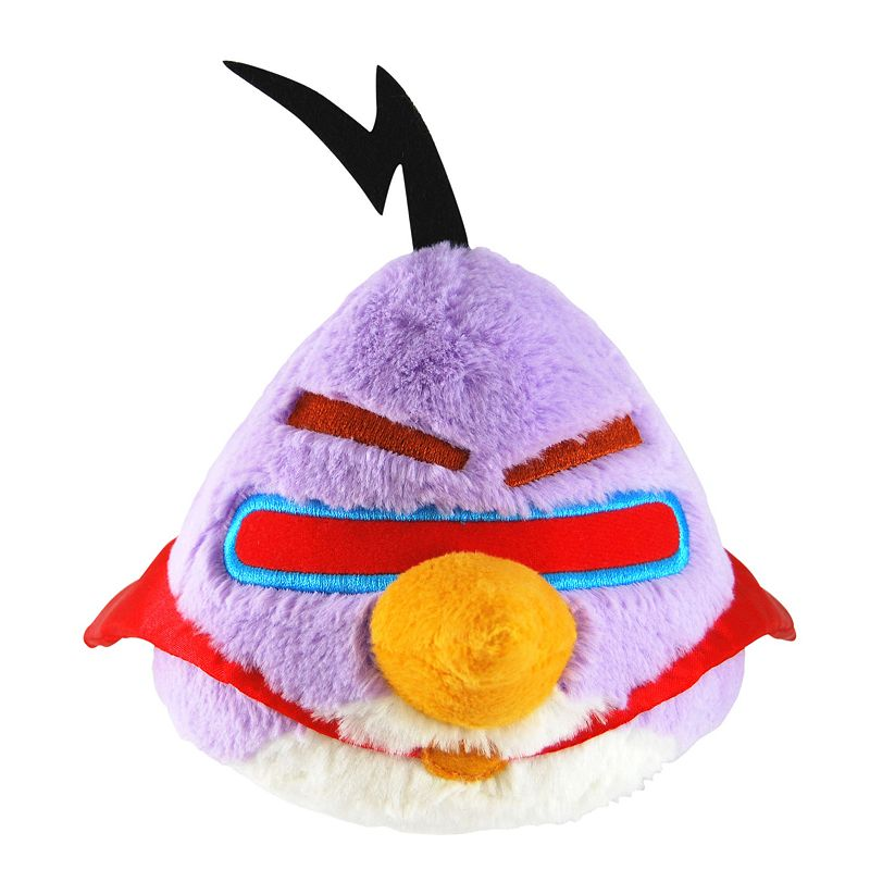 Angry Birds Space 8 Inch Purple Lazer Bird Plush