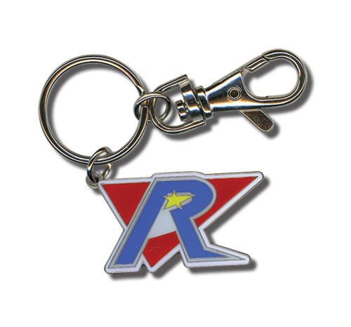 Mega Man X4 Repliforce Logo Keychain