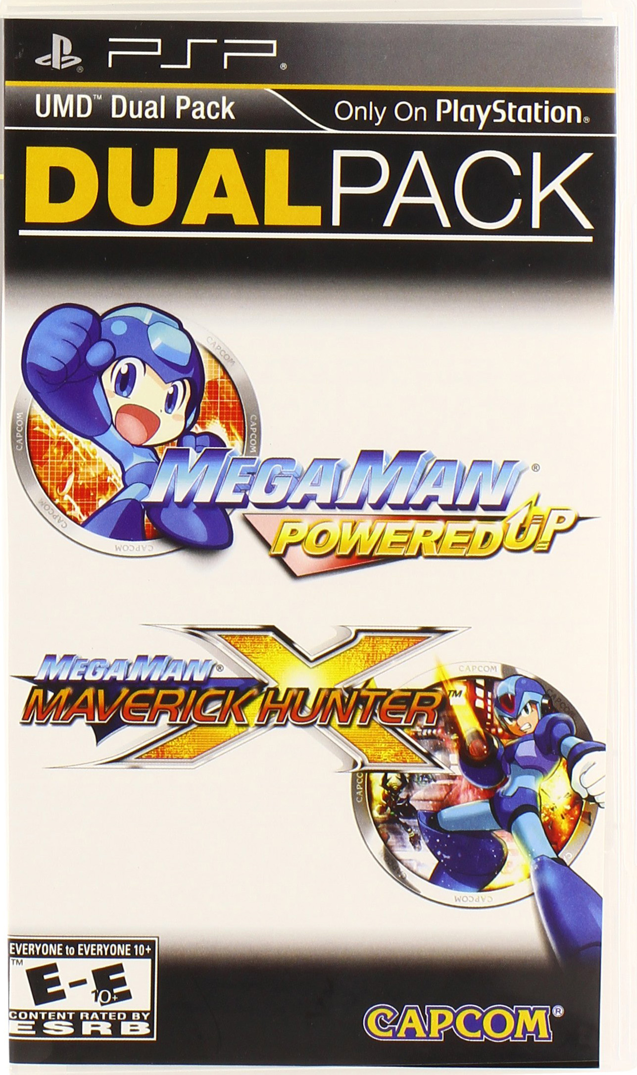Mega Man Dual Pack: Power Up & Maverick Hunter X