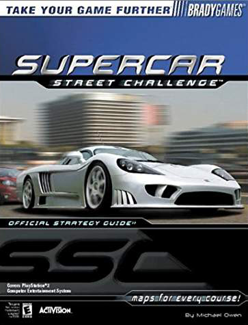 Supercar Street Challenge Official Strategy Guide