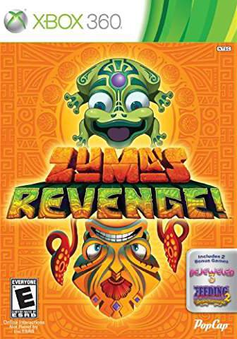 Zuma's Revenge! with Bejeweled 3 and Feeding Frenzy 2