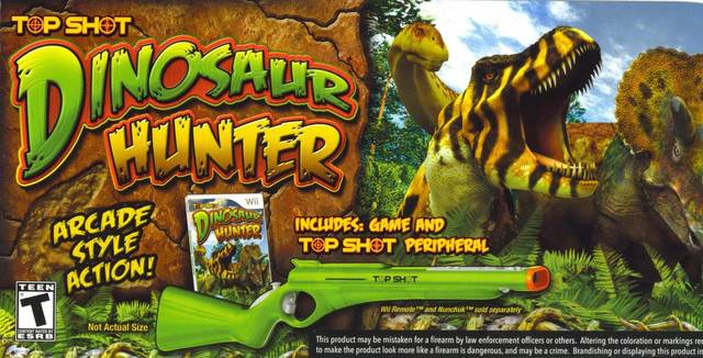 Top Shot Dinosaur Hunter Bundle