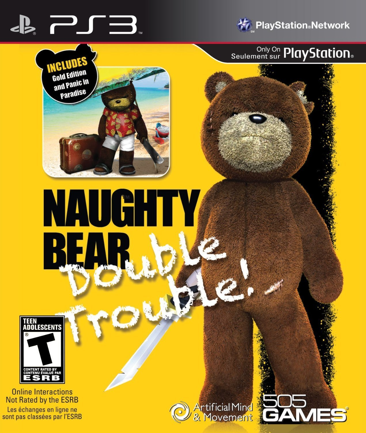 Naughty Bear: Double Trouble