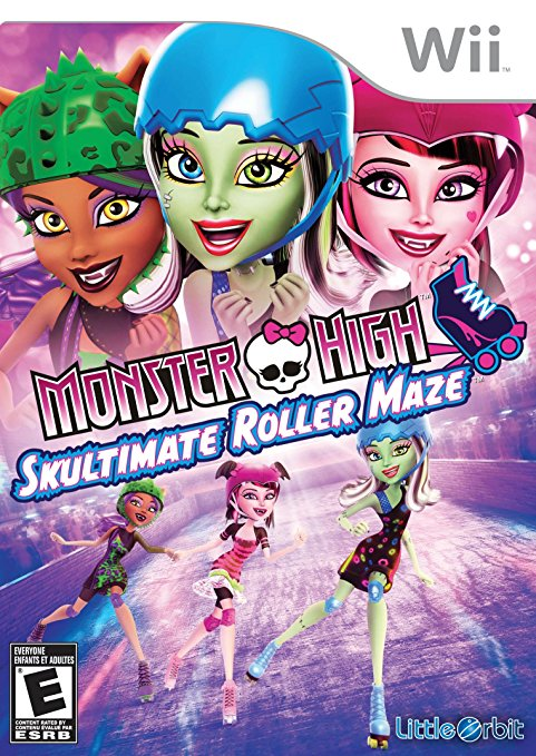 Monster High: Skultimate Roller Maze
