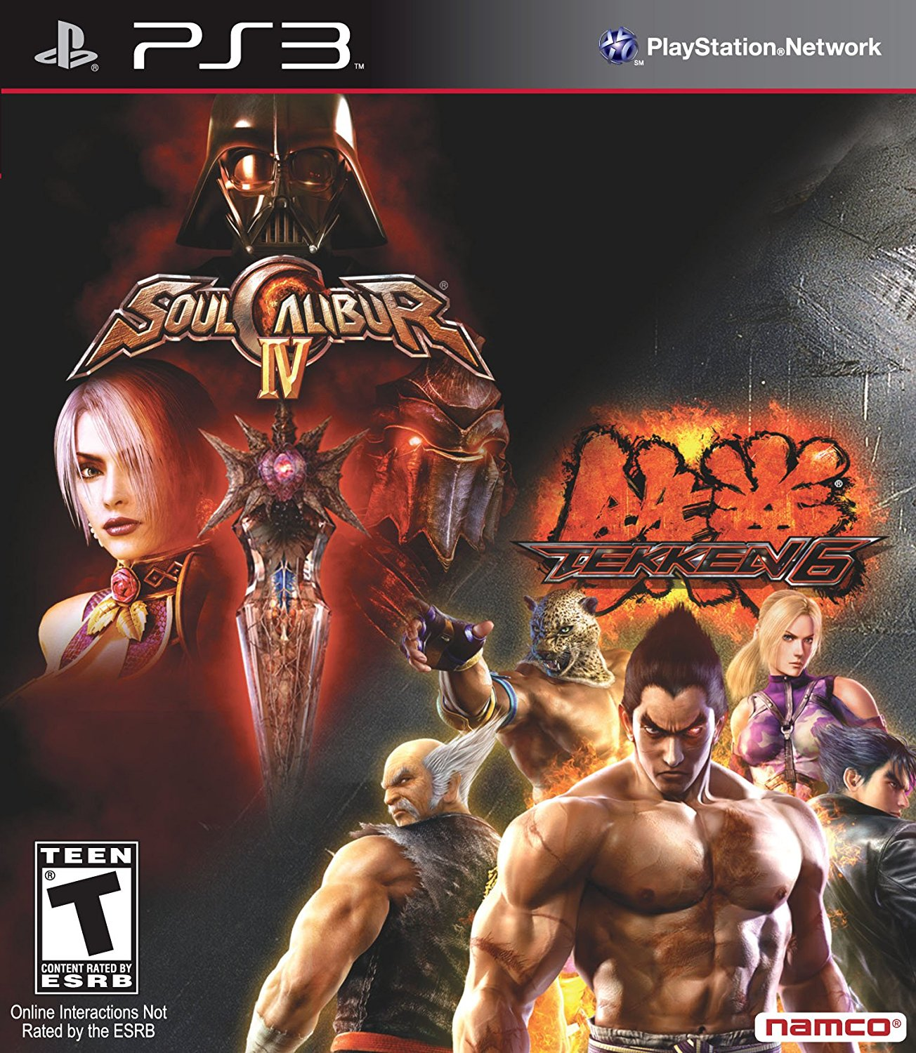Buy Playstation 3 Tekken 6 Soul Calibur Iv Bundle Estarland Com