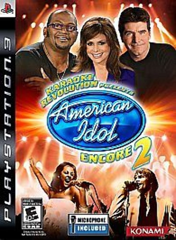 Karaoke Revolution Presents American Idol Encore 2 Game Only