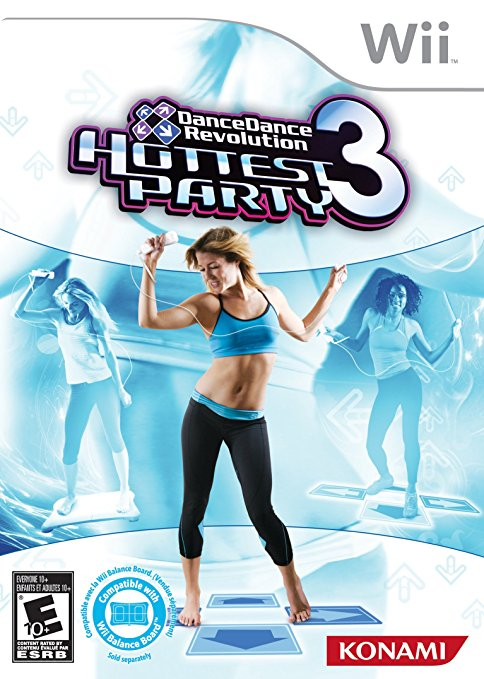 Dance Dance Revolution Hottest Party 3 (Game Only)