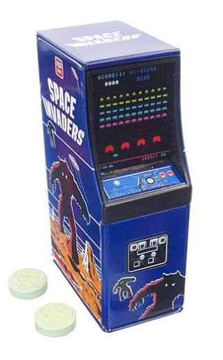 Space Invaders Cabinet Candy Tin
