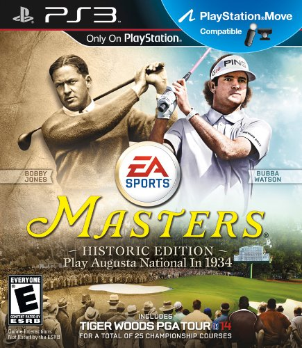 Tiger Woods PGA Tour 14: The Masters Historic Edition